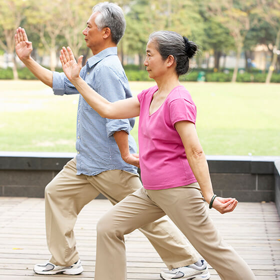 Tai Chi as part of Home Care Services